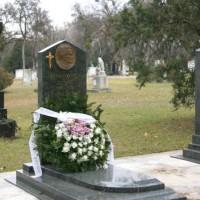 Barankovics István síremléke a Fiumei úti sírkertben