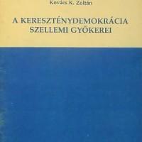 Kovács K. Zoltán egyik könyvének borítója